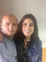 Victor Montero | Con Adriana Auguarte